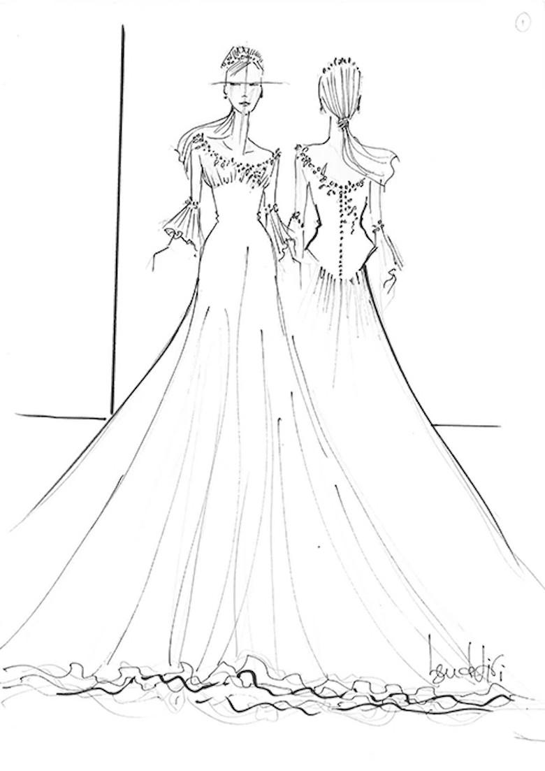 Suknia ślubna Dla Meghan Markle Projekt Ben De Lisi Fot Hello