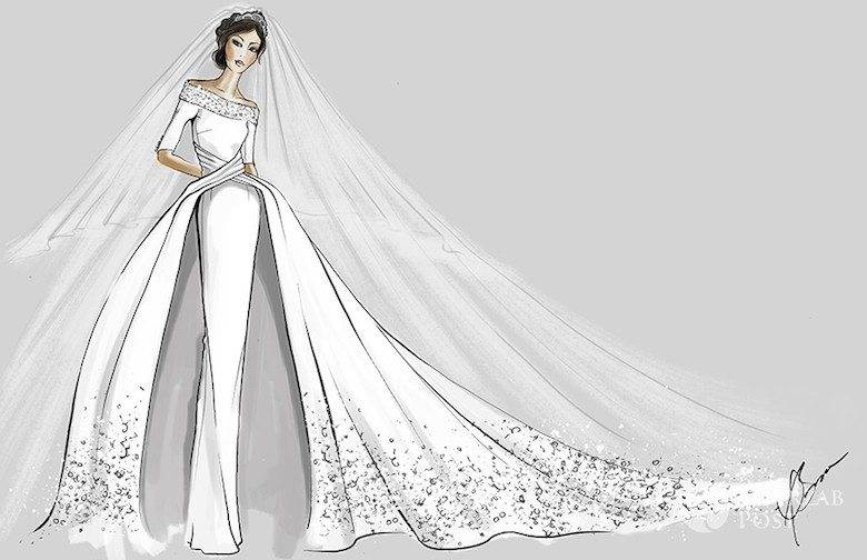 Suknia ślubna Dla Meghan Markle Projekt Dennis Basso Fot Hello