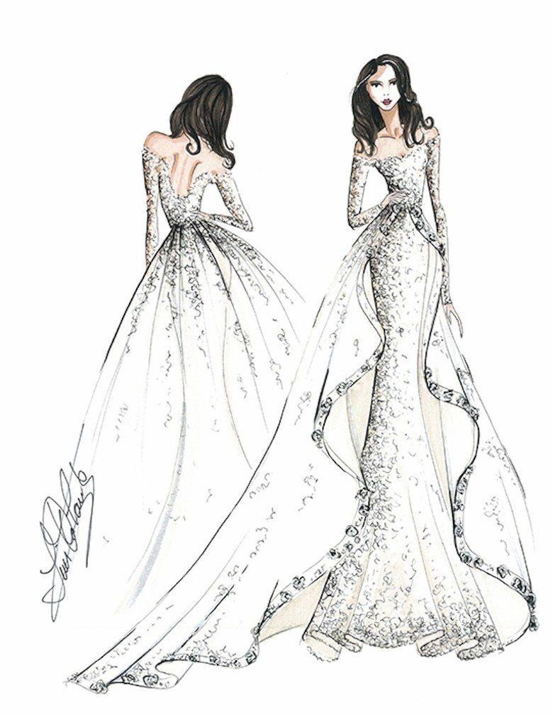 Suknia ślubna Dla Meghan Markle Projekt Ines Di Santo Fot Hello