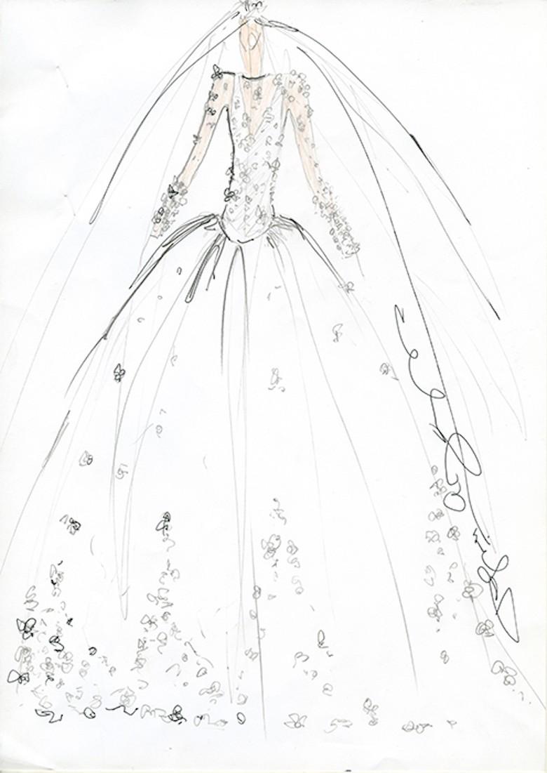 Suknia ślubna Dla Meghan Markle Projekt Jacques Azagury Fot Hello