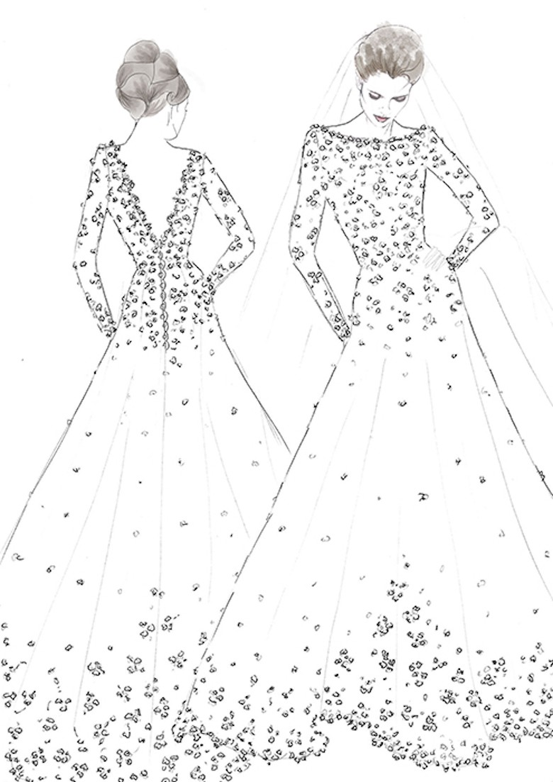 Suknia ślubna Dla Meghan Markle Projekt Sassi Holford Fot Hello