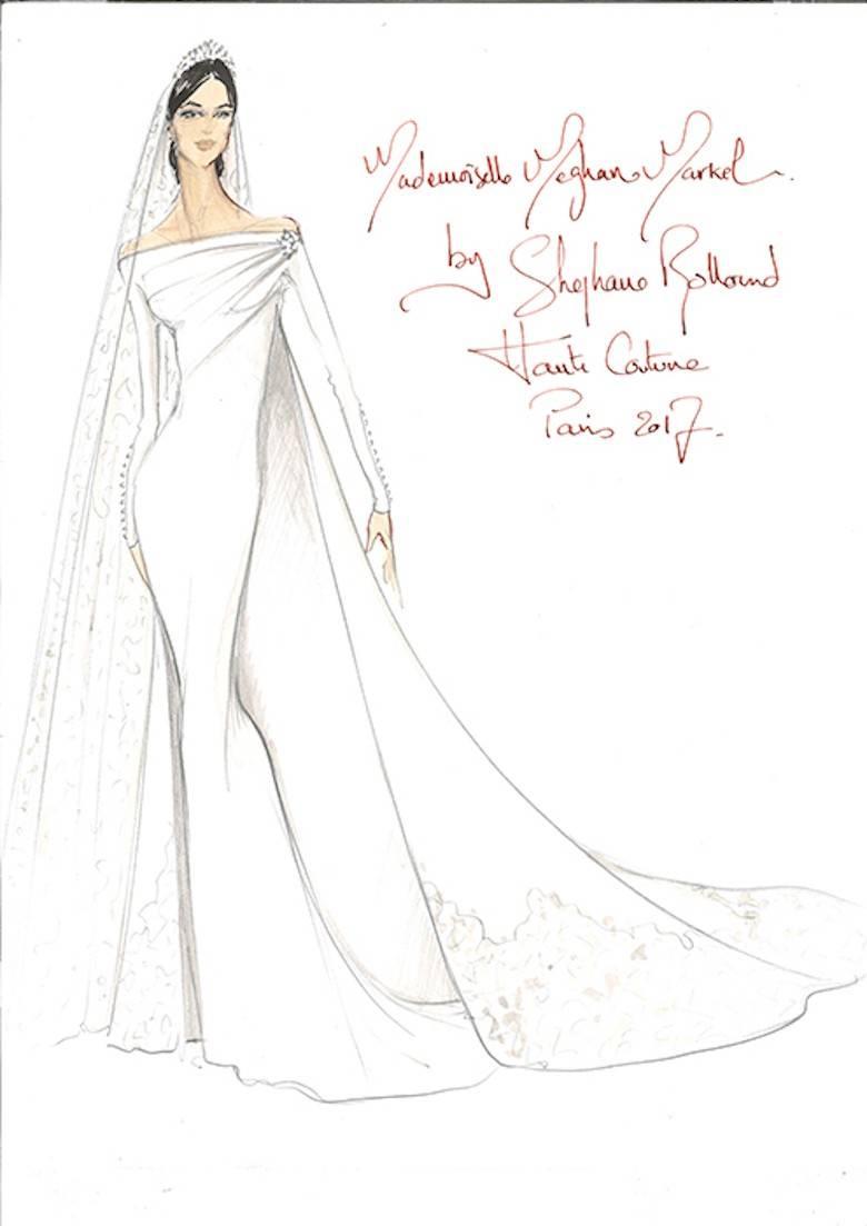 Suknia ślubna Dla Meghan Markle Projekt Stephane Rolland Fot