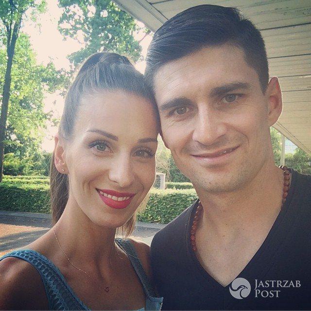 Paulina Komorowska z mężem - prowadząca Zaręczyny. Najlepsze Scenariusze