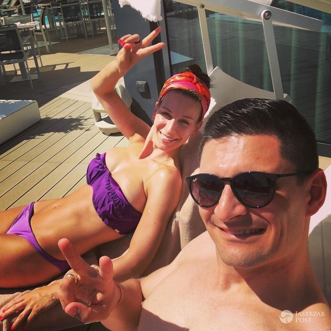 Paulina Komorowska w bikini - prowadząca Zaręczyny. Najlepsze Scenariusze