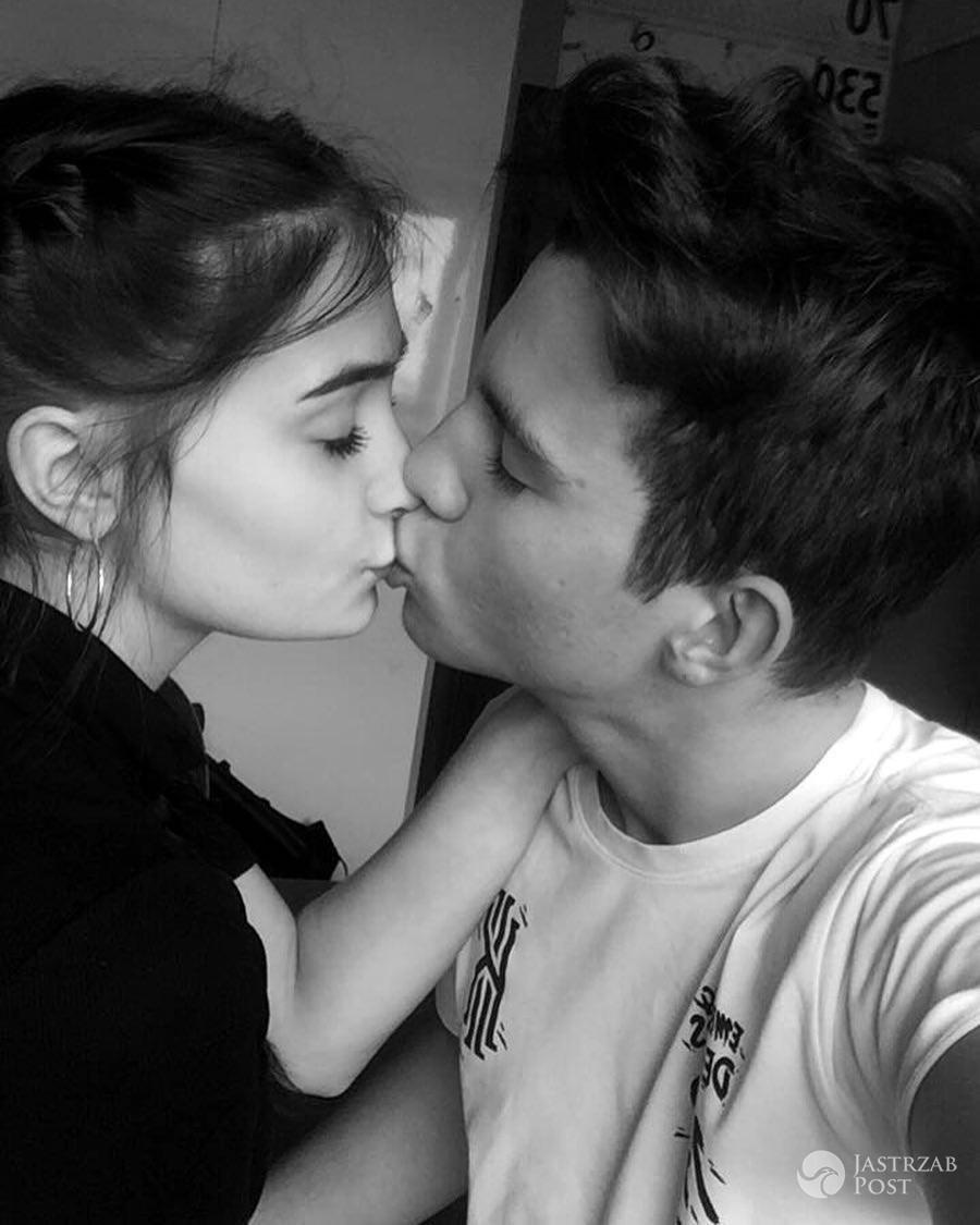 Mateusz Raduszewski w namiętnym pocałunku z Anastazją