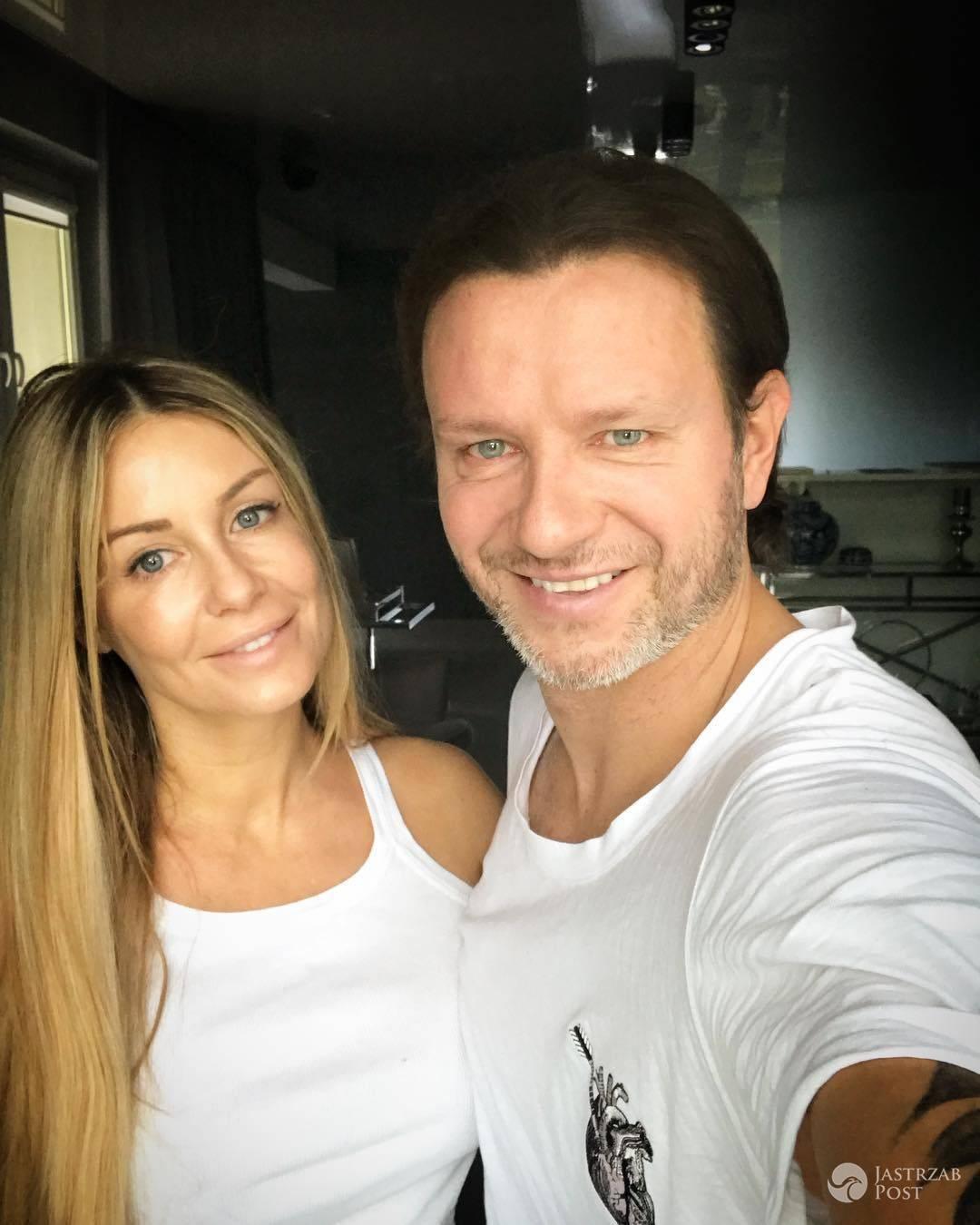 Małgorzata Rozenek i Radosław Majdan po pierwszej rocznicy ślubu