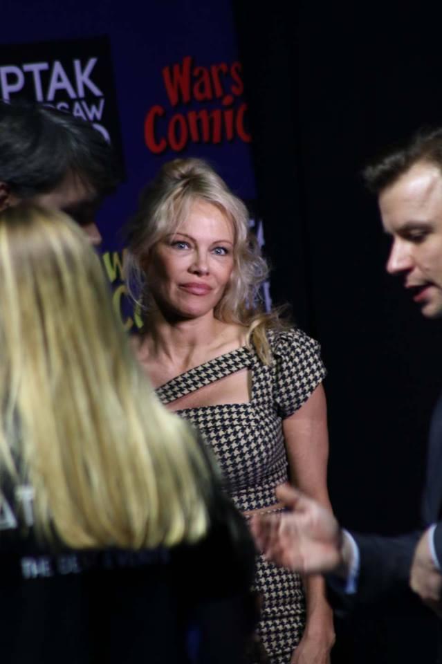 Pamela Anderson na Warsaw Comic Con fot. Medialna Alpaka