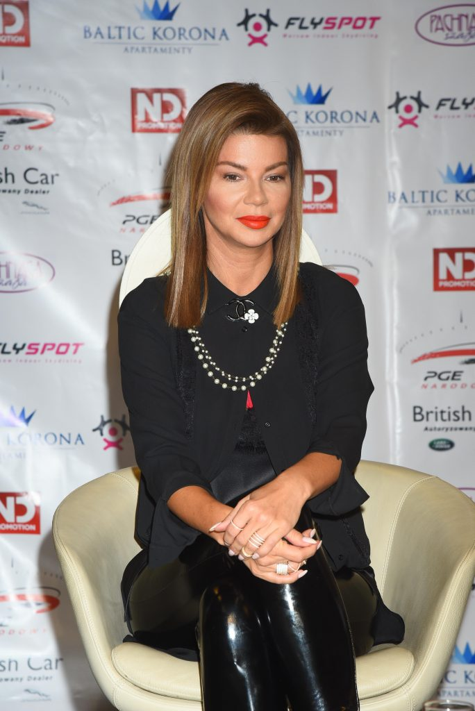 Edyta Górniak - Boxing Night 14, konferencja