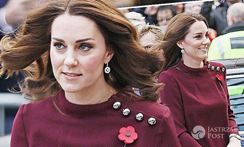 Księżna Kate w jesiennej stylizacji na Place2Be School Leaders Forum