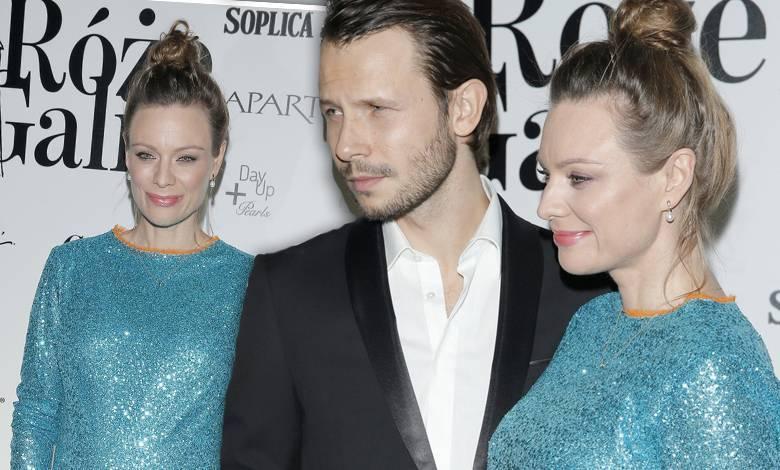 Magdalena Boczarska i Mateusz Banasiuk - Róże Gali 2017