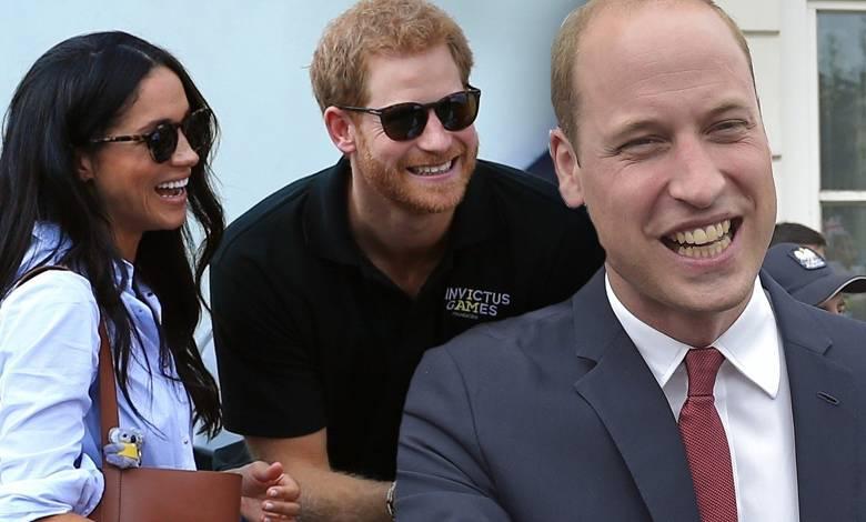 Książę Harry i książę William zagrali w Gwiezdnych Wojnach