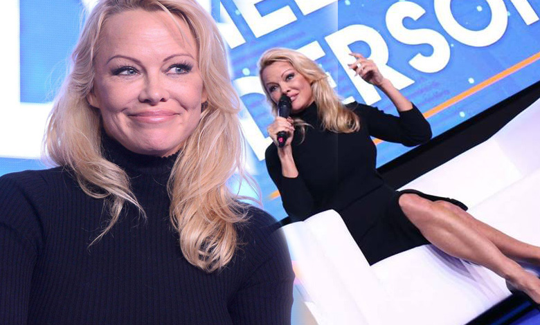 Pamela Anderson w Polsce