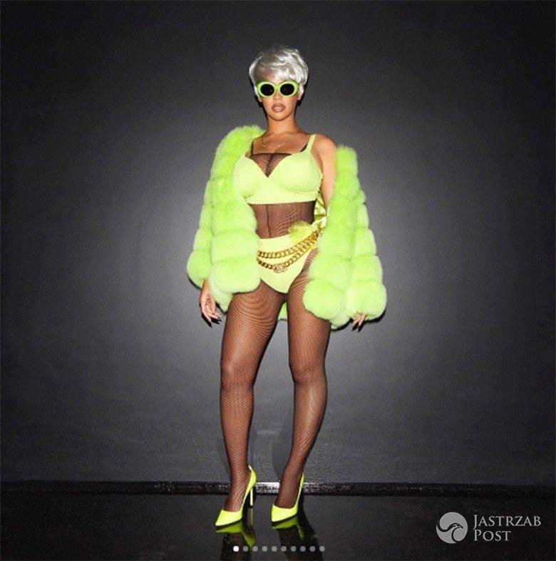 Beyonce jako Lil'Kim - Halloween 2017