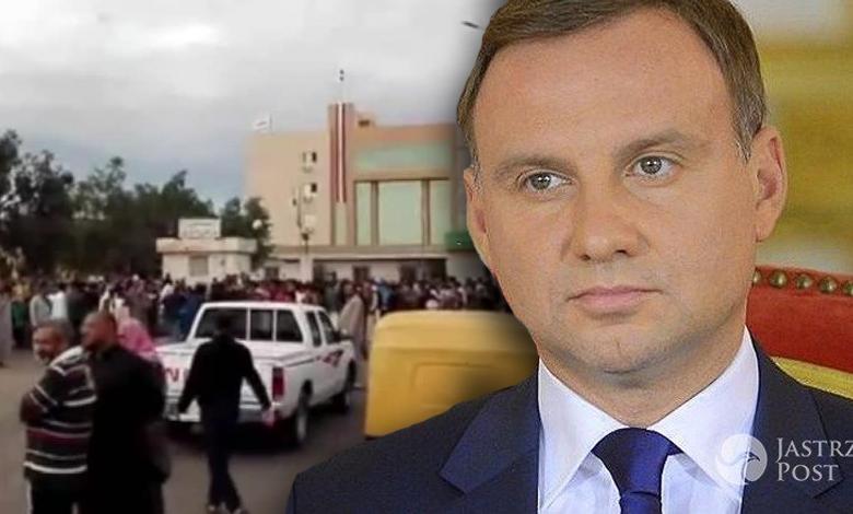 Andrzej Duda wysyła kondolencje do Egiptu