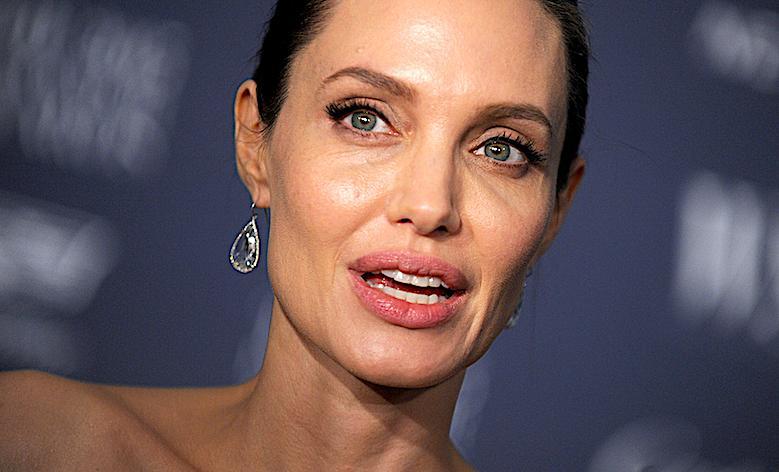 Angelina Jolie sobowtór
