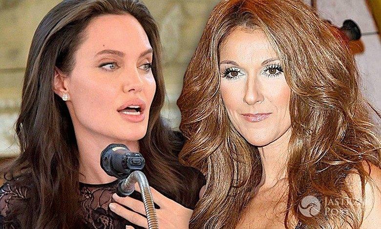 Celine Dion i Angelina Jolie