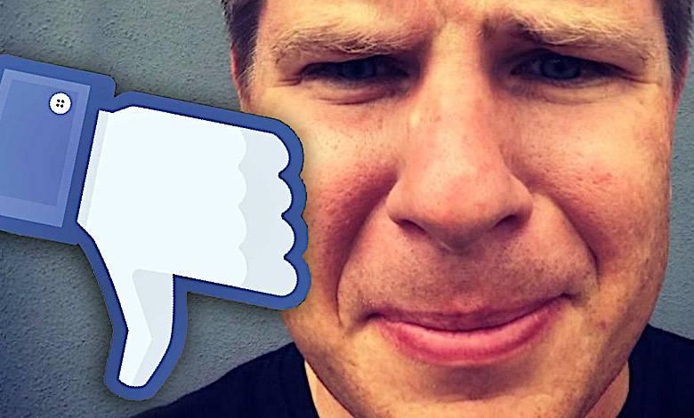 Filip Chajzer, Facebook, blokada