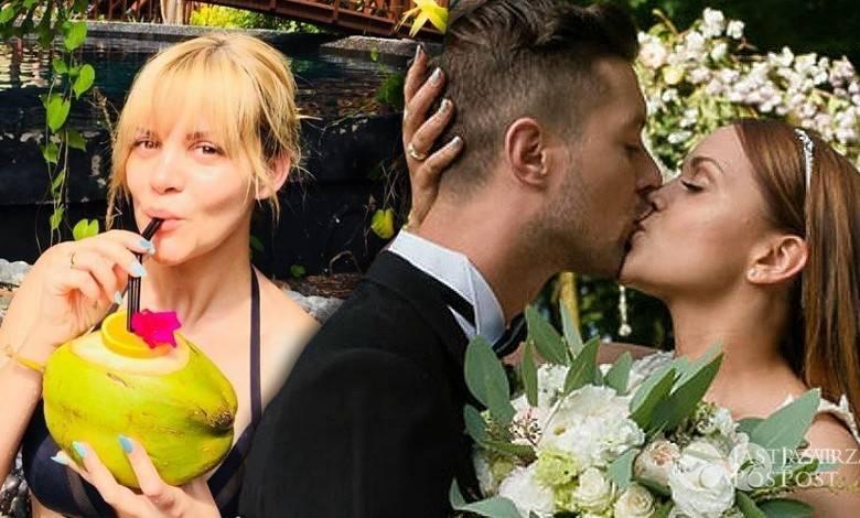 Dominika Gawęda w podróży poślubnej