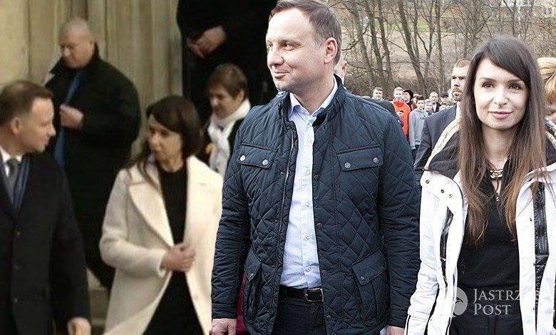 Andrzej Duda i Marta KAczyńska razem na Wawelu