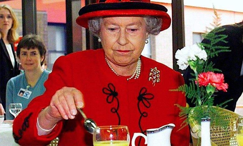 Królowa Elżbieta II je, dieta