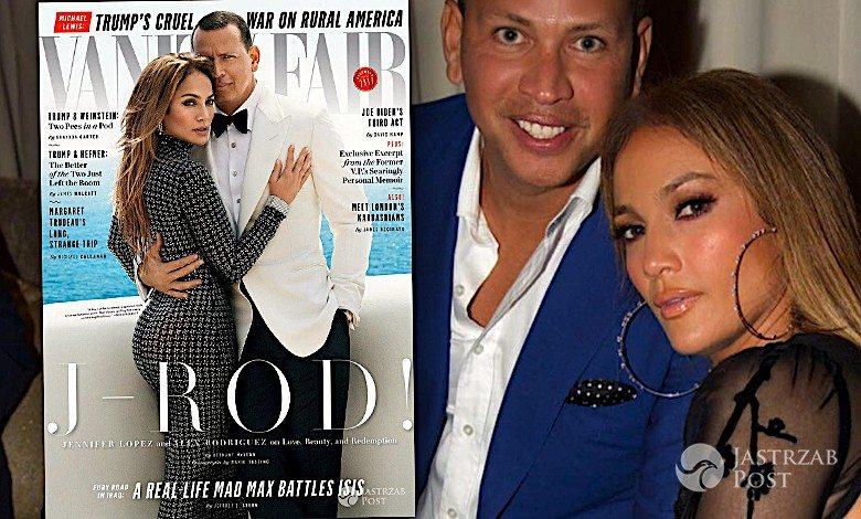 Jennifer Lopez i Alex Rodriguez wywiad w Vanity Fair