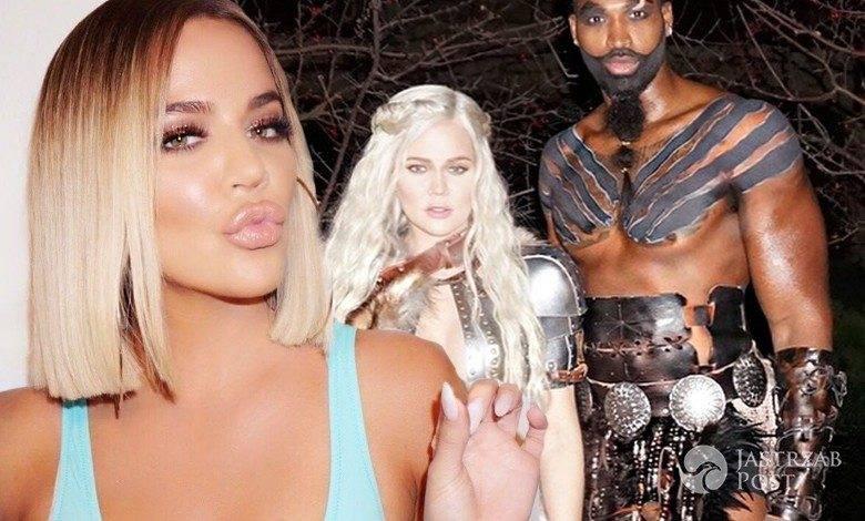 Khloe Kardashian pokazała brzuszek ciążowy