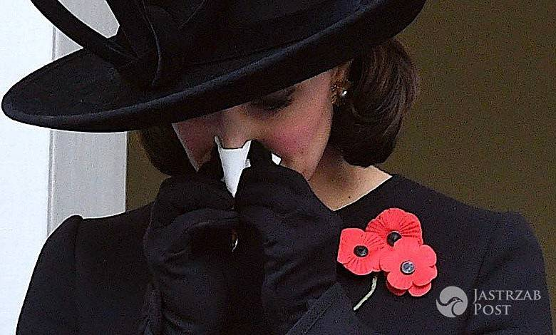 Księżna Kate płacze