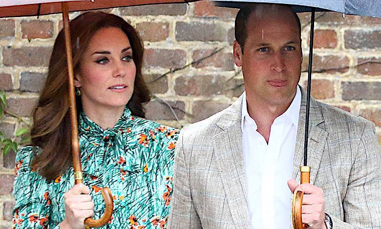 Księżna Kate i książę William tajne spotkanie