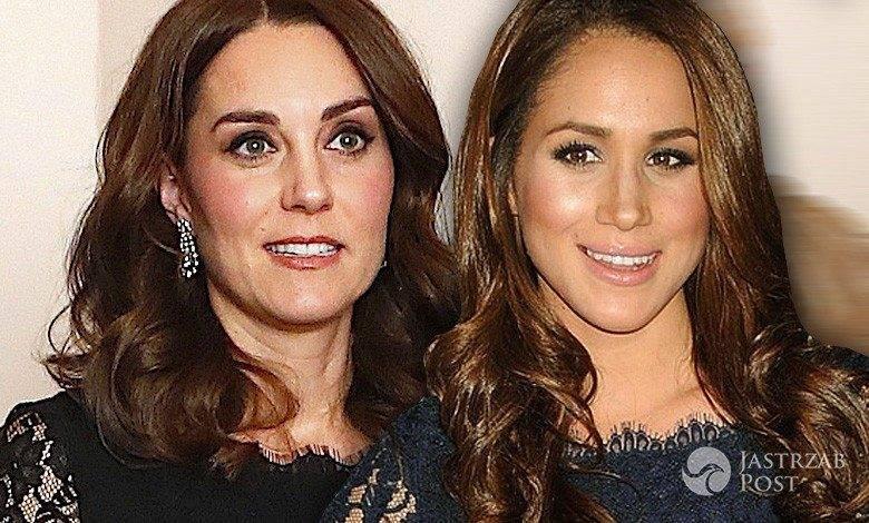 Księżna Kate i Meghan Markle w takiej samej sukience
