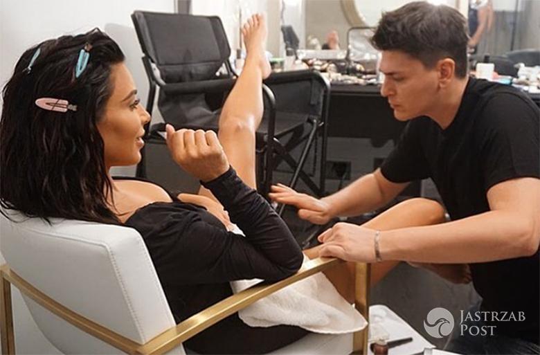Kim Kardashian zrobiła sobie makijaż pochwy