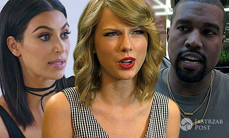 Taylor Swift, Kim Kardashian, Kanye West