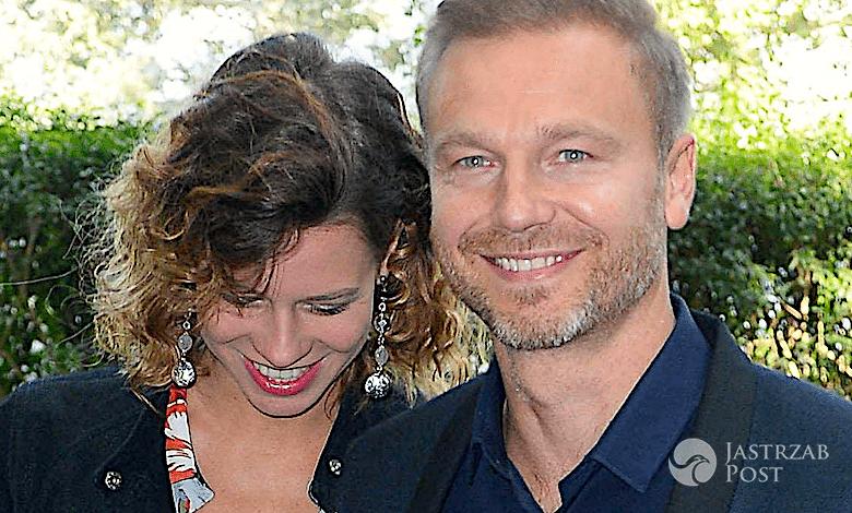 Krystian Wieczorek i jego żona jest w ciąży