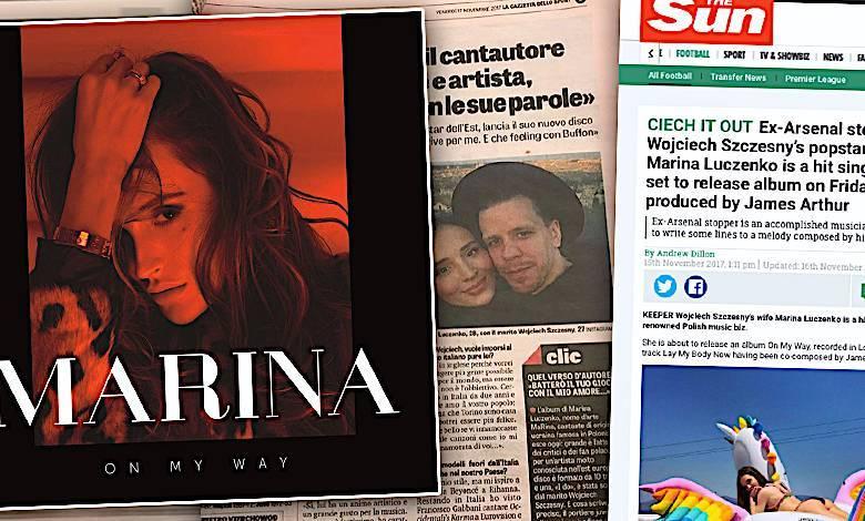 Marina On My Way, zagraniczne media