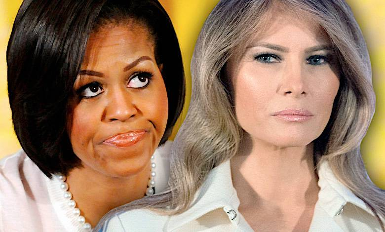 Melania Trump i Michelle Obama
