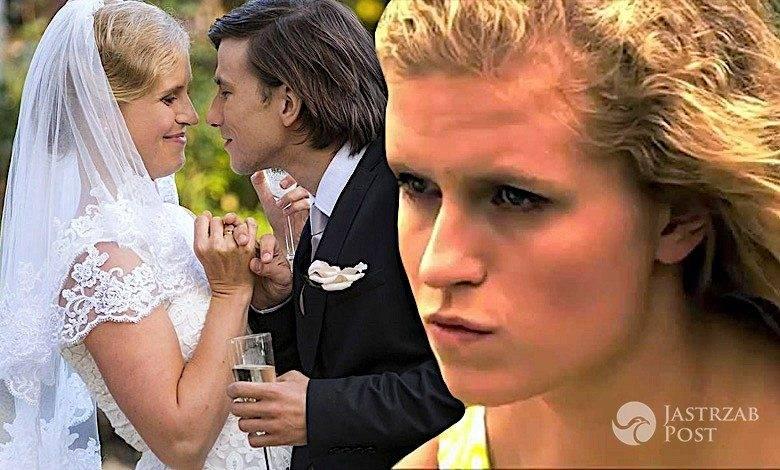 Natalka z M jak miłość ślub
