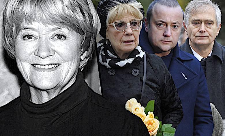 Pogrzeb Aliny Janowskiej, zdjęcia