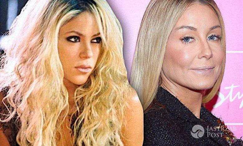 Małgorzata Rozenek jak Shakira na Instagramie
