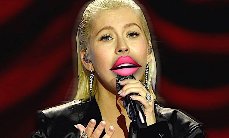 christina aguilera usta