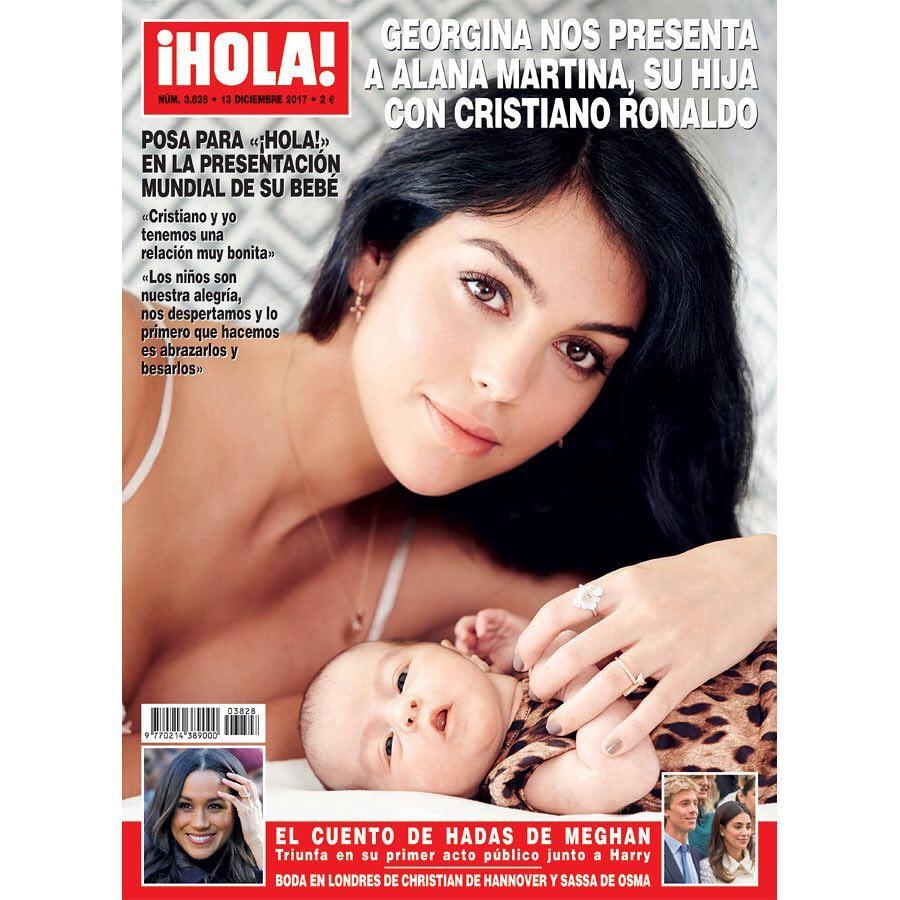 Georginia Rodriguez z córką na okładce