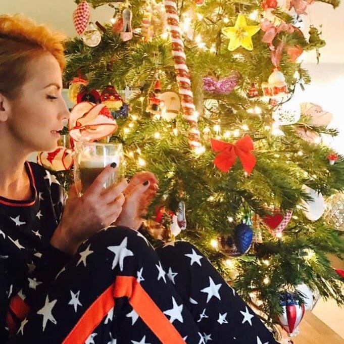Katarzyna Zielińska pochwaliła się choinką