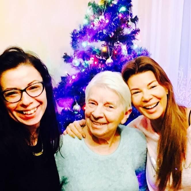 Edyta Górniak spędziła święta z rodzicami i siostrą