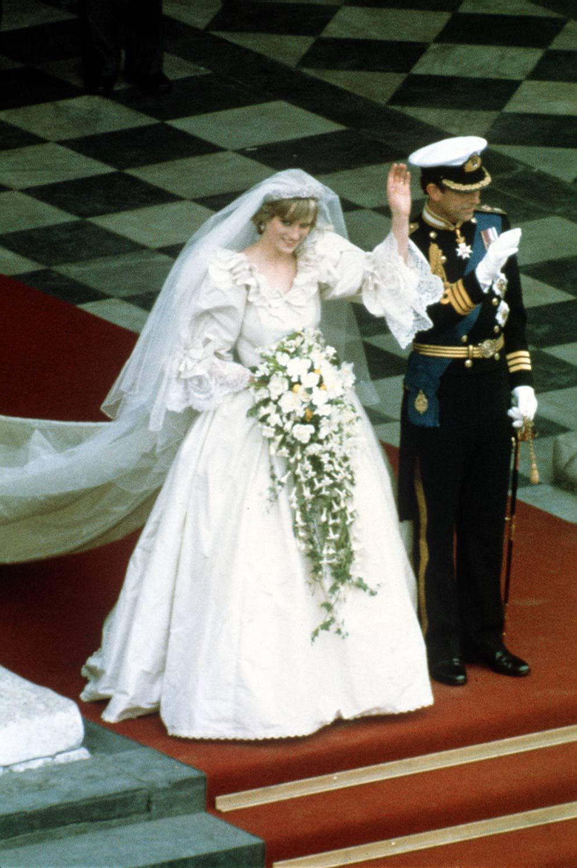 Diana i Karol ślub