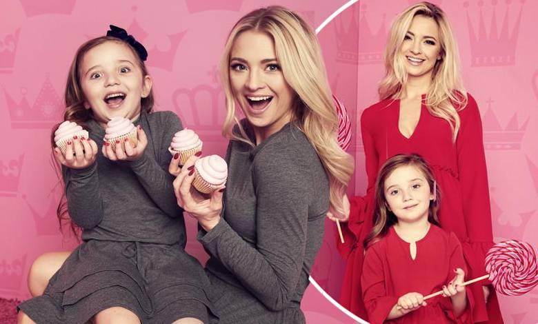 Barbara Kurdej-Szatan z córką w reklamie