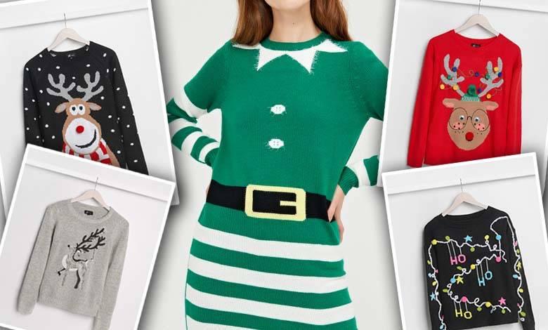 Swetry z motywem świątecznym