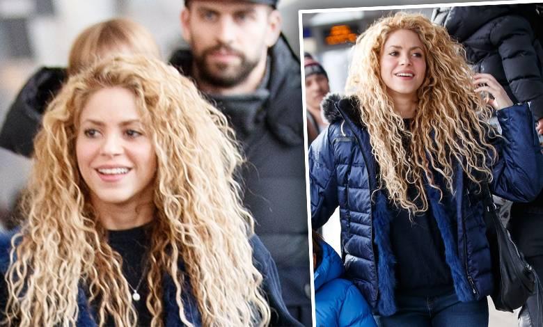 Shakira z Gerardem Pique i synami, Sashą i Milanem