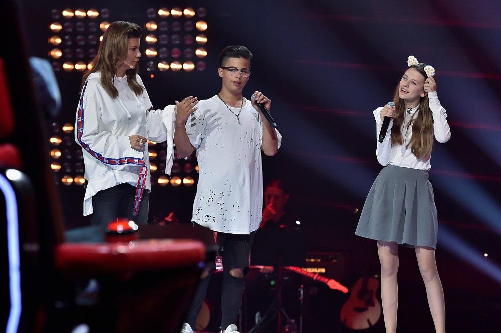 Edyta Górniak szuka dziewczyny Allanowi w The Voice Kids