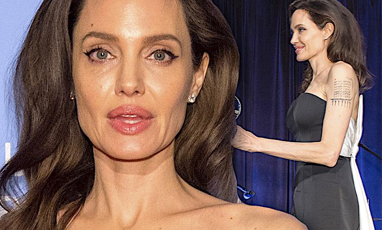 Angelina Jolie na gali ONZ