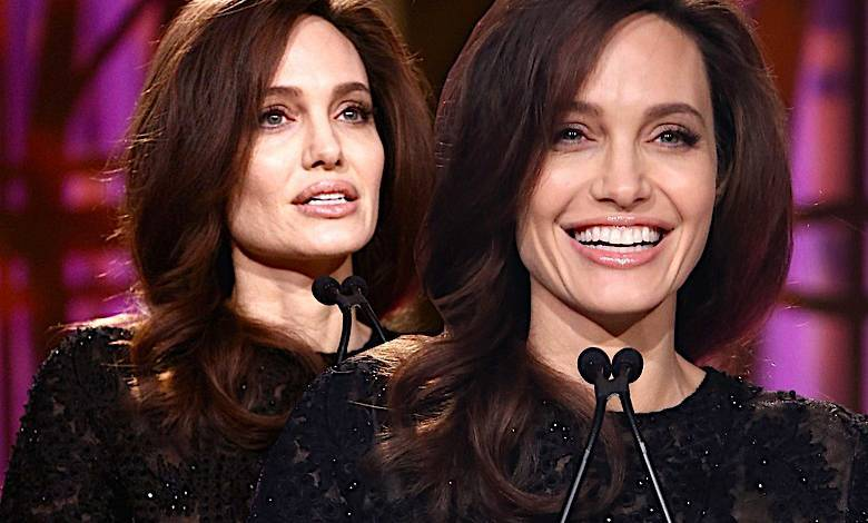 Angelina Jolie nowa fryzura