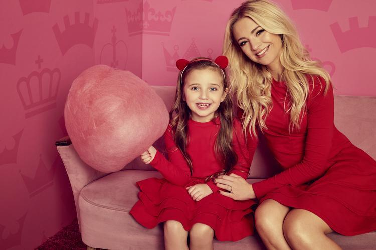 Barbara Kurdej-Szatan z córką Hanią w kampanii reklamowej Sugarfree
