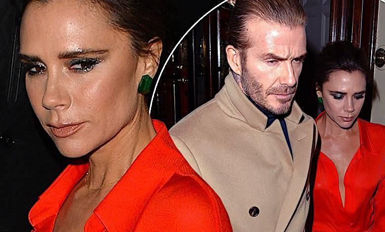 Victoria, David Beckham Londyn